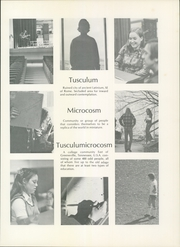 Page 5, 1973 Edition, Tusculum College - Tusculana Yearbook (Greenville, TN) online yearbook collection