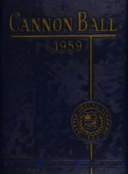 1959 Edition, Battle Ground Academy - Cannon Ball Yearbook (Franklin, TN)