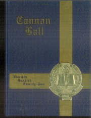 1972 Edition, Battle Ground Academy - Cannon Ball Yearbook (Franklin, TN)