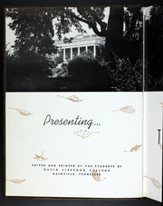 Page 6, 1940 Edition, Lipscomb University - Backlog Yearbook (Nashville, TN) online yearbook collection