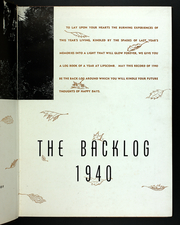 Page 7, 1940 Edition, Lipscomb University - Backlog Yearbook (Nashville, TN) online yearbook collection