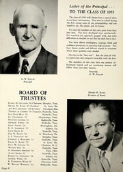 Page 10, 1955 Edition, Webb School - Sawney Yearbook (Bell Buckle, TN) online yearbook collection