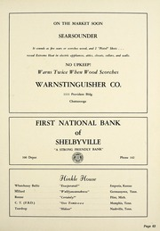 Page 67, 1955 Edition, Webb School - Sawney Yearbook (Bell Buckle, TN) online yearbook collection