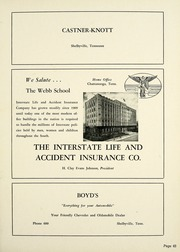 Page 69, 1955 Edition, Webb School - Sawney Yearbook (Bell Buckle, TN) online yearbook collection