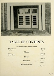 Page 7, 1955 Edition, Webb School - Sawney Yearbook (Bell Buckle, TN) online yearbook collection