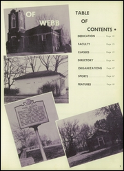 Page 7, 1959 Edition, Webb School - Sawney Yearbook (Bell Buckle, TN) online yearbook collection