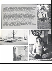 Page 12, 1977 Edition, Webb School - Sawney Yearbook (Bell Buckle, TN) online yearbook collection