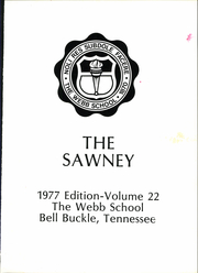 Page 5, 1977 Edition, Webb School - Sawney Yearbook (Bell Buckle, TN) online yearbook collection