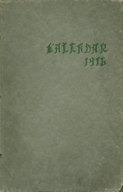 1916 Edition, Park City High School - Kalendar Yearbook (Knoxville, TN)