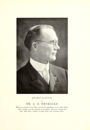 Page 7, 1929 Edition, Trevecca Nazarene University - Darda Yearbook (Nashville, TN) online yearbook collection
