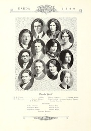 Page 8, 1929 Edition, Trevecca Nazarene University - Darda Yearbook (Nashville, TN) online yearbook collection
