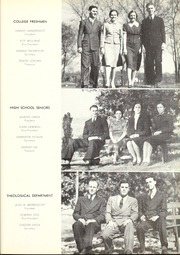 Page 17, 1940 Edition, Trevecca Nazarene University - Darda Yearbook (Nashville, TN) online yearbook collection