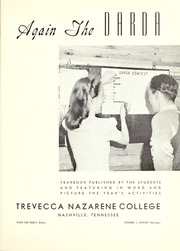 Page 5, 1942 Edition, Trevecca Nazarene University - Darda Yearbook (Nashville, TN) online yearbook collection