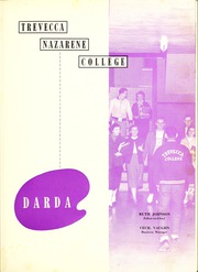 Page 5, 1956 Edition, Trevecca Nazarene University - Darda Yearbook (Nashville, TN) online yearbook collection