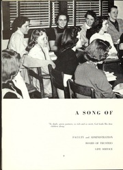 Page 12, 1958 Edition, Trevecca Nazarene University - Darda Yearbook (Nashville, TN) online yearbook collection