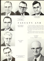 Page 14, 1958 Edition, Trevecca Nazarene University - Darda Yearbook (Nashville, TN) online yearbook collection