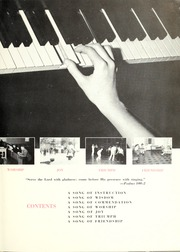 Page 7, 1958 Edition, Trevecca Nazarene University - Darda Yearbook (Nashville, TN) online yearbook collection