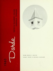 Page 5, 1960 Edition, Trevecca Nazarene University - Darda Yearbook (Nashville, TN) online yearbook collection