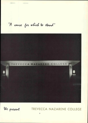 Page 17, 1967 Edition, Trevecca Nazarene University - Darda Yearbook (Nashville, TN) online yearbook collection