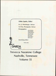 Page 7, 1979 Edition, Trevecca Nazarene University - Darda Yearbook (Nashville, TN) online yearbook collection