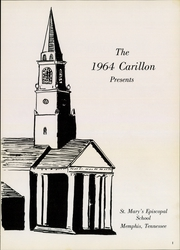 Page 3, 1964 Edition, St Marys Episcopal School - Carillon Yearbook (Memphis, TN) online yearbook collection