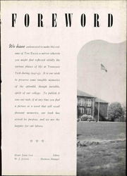 Page 11, 1943 Edition, Tennessee Technological University - Eagle Yearbook (Cookeville, TN) online yearbook collection