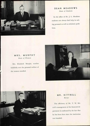 Page 17, 1946 Edition, Tennessee Technological University - Eagle Yearbook (Cookeville, TN) online yearbook collection