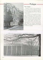 Page 10, 1960 Edition, Tennessee Technological University - Eagle Yearbook (Cookeville, TN) online yearbook collection
