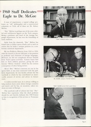 Page 9, 1960 Edition, Tennessee Technological University - Eagle Yearbook (Cookeville, TN) online yearbook collection