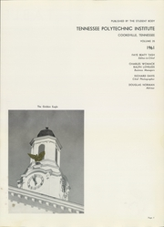 Page 5, 1961 Edition, Tennessee Technological University - Eagle Yearbook (Cookeville, TN) online yearbook collection
