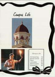 Page 17, 1988 Edition, Freed Hardeman University - Treasure Chest Yearbook (Henderson, TN) online yearbook collection