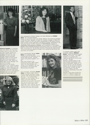 Page 207, 1988 Edition, Freed Hardeman University - Treasure Chest Yearbook (Henderson, TN) online yearbook collection