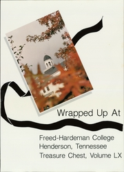 Page 5, 1988 Edition, Freed Hardeman University - Treasure Chest Yearbook (Henderson, TN) online yearbook collection