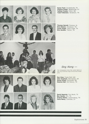 Page 99, 1988 Edition, Freed Hardeman University - Treasure Chest Yearbook (Henderson, TN) online yearbook collection