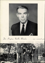 Page 14, 1950 Edition, Rhodes College - Lynx Yearbook (Memphis, TN) online yearbook collection
