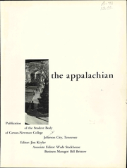 Page 5, 1961 Edition, Carson Newman College - Appalachian Yearbook (Jefferson City, TN) online yearbook collection