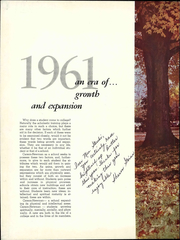 Page 6, 1961 Edition, Carson Newman College - Appalachian Yearbook (Jefferson City, TN) online yearbook collection