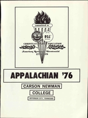 Page 7, 1976 Edition, Carson Newman College - Appalachian Yearbook (Jefferson City, TN) online yearbook collection