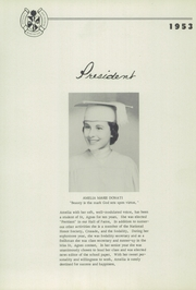 Page 15, 1953 Edition, St Agnes Academy - Markings Yearbook (Memphis, TN) online yearbook collection