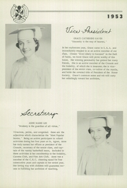 Page 16, 1953 Edition, St Agnes Academy - Markings Yearbook (Memphis, TN) online yearbook collection