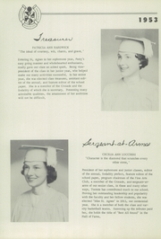 Page 17, 1953 Edition, St Agnes Academy - Markings Yearbook (Memphis, TN) online yearbook collection