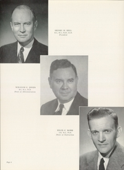 Page 10, 1954 Edition, George Peabody College For Teachers - Pillar Yearbook (Nashville, TN) online yearbook collection
