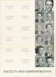 Page 13, 1954 Edition, George Peabody College For Teachers - Pillar Yearbook (Nashville, TN) online yearbook collection