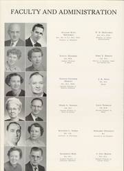 Page 14, 1954 Edition, George Peabody College For Teachers - Pillar Yearbook (Nashville, TN) online yearbook collection