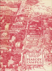 Page 3, 1954 Edition, George Peabody College For Teachers - Pillar Yearbook (Nashville, TN) online yearbook collection