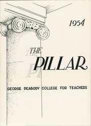 Page 5, 1954 Edition, George Peabody College For Teachers - Pillar Yearbook (Nashville, TN) online yearbook collection