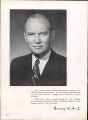 Page 10, 1956 Edition, George Peabody College For Teachers - Pillar Yearbook (Nashville, TN) online yearbook collection