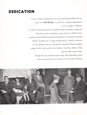 Page 8, 1957 Edition, Columbia Military Academy - Yearbook (Columbia, TN) online yearbook collection