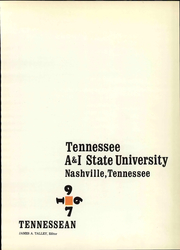 Page 5, 1967 Edition, Tennessee State University - Tennessean Yearbook (Nashville, TN) online yearbook collection