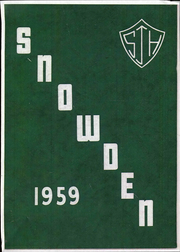 Page 1, 1959 Edition, Snowden Junior High School - Yearbook (Memphis, TN) online yearbook collection